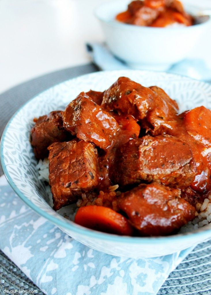Red Wine Beef Stew Recipe — Dishmaps