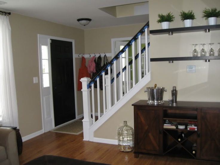 Best Half Wall And Stairs Home Decor Pinterest 400 x 300