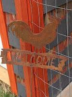 Welcome sign for the Hen house