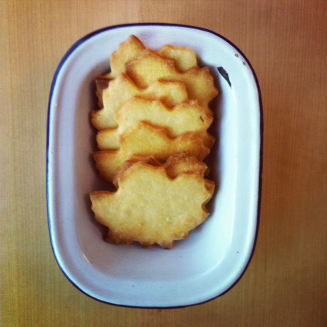 Alice Bakes a Cake: Nutmeg maple butter cookies