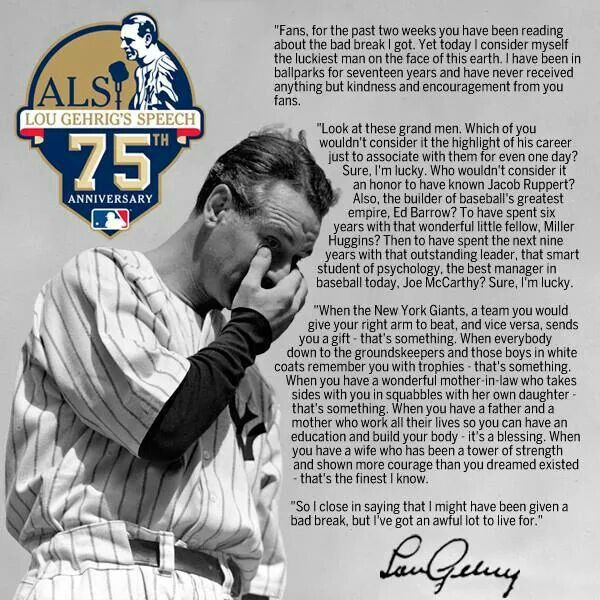 The Mystery of Lou Gehrig's Farewell Speech