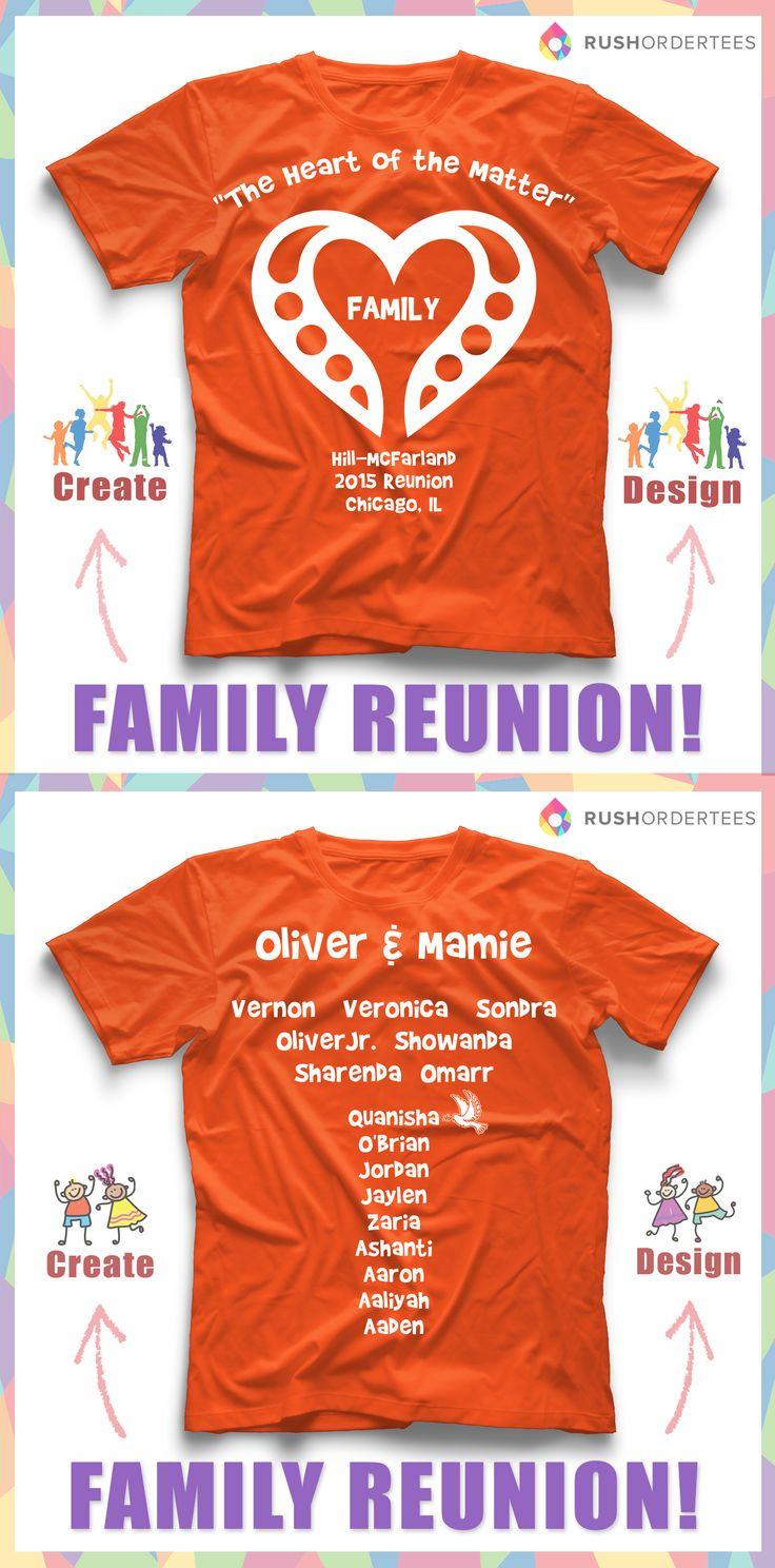 Family Reunion T Shirt Examples Carrerasconfuturo Com