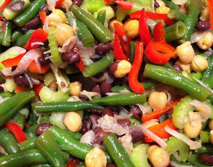 bean salad mexican three bean salad string bean salad 2 pts bean salad ...