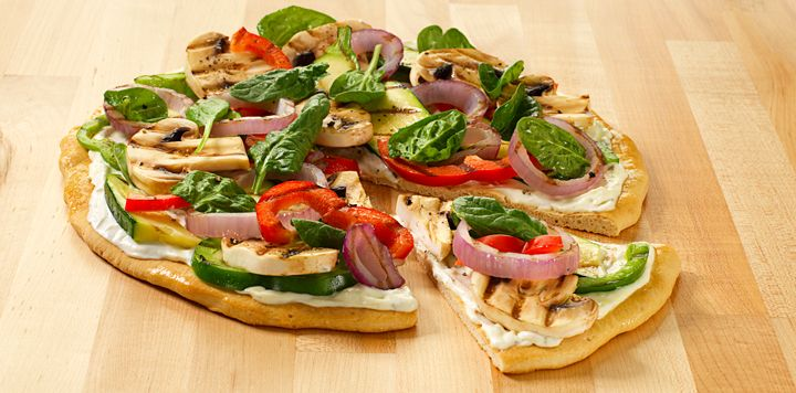 Grilled Vegetable Pizza | Favorite Recipes | Pinterest