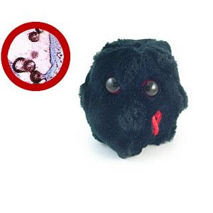 This is the hiv virus in plushie form i actually used to own own one