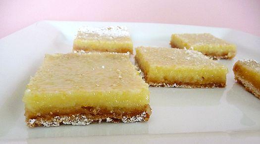 Brown Eyed Baker Lemon Bars