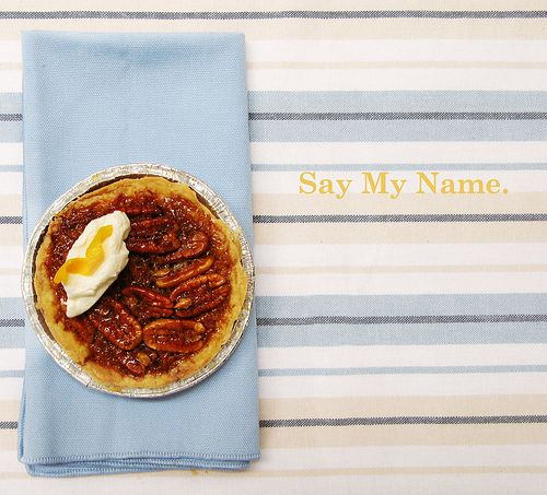 Tartine's Pecan Maple Pie (with title) by jumanggy, via Flickr