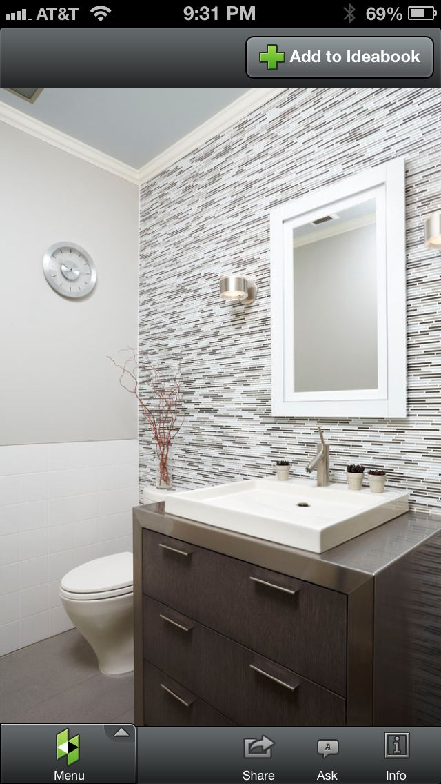 Low Profile Vessel : Low profile sink For the Home Pinterest