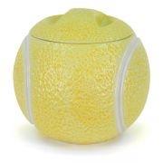 *CLARKE CERMAIC TENNIS BALL ~ Cookie Jar