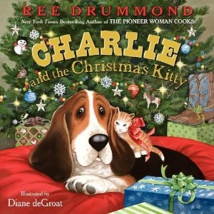 omgosh! Charlie has a Christmas book...with a KITTY!!! @thepioneerwoman