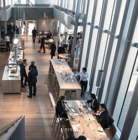 Corporativo del Banco DNB de MVRDV en Oslo, Noruega
