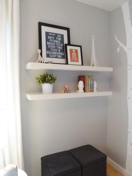 floating shelves for master bedroom for the home pinterest. Black Bedroom Furniture Sets. Home Design Ideas