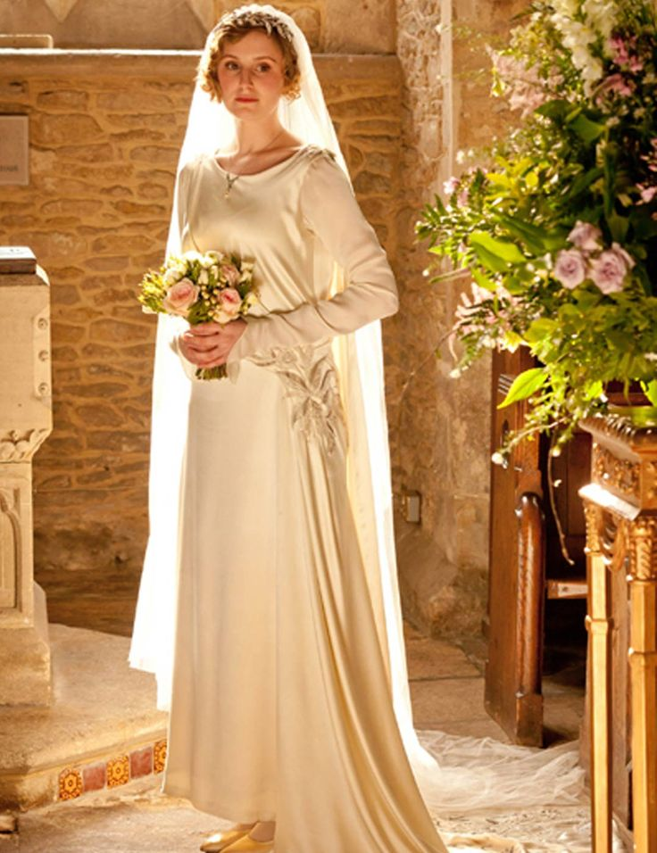 Pin by kelly kings fives on vow renewal pinterest for Downton abbey style wedding dress