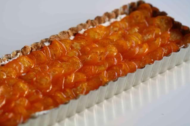 Candied Kumquat Tart | Sustenance | Pinterest