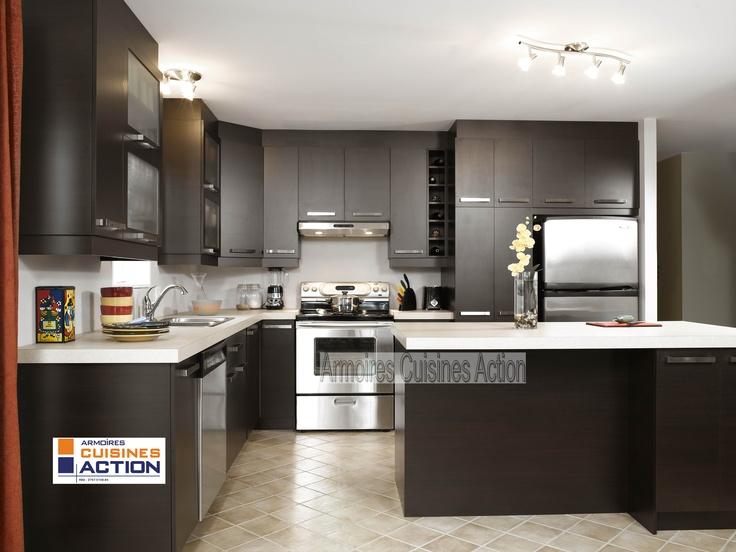 Idee Peinture Chambre Petit Garcon :  Cuisine Habitat  Pin by armoires cuisines action on cuisine pinterest