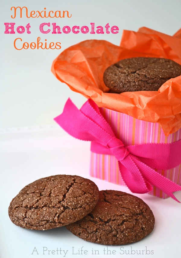 Mexican Hot-Chocolate Cookies Recipe — Dishmaps