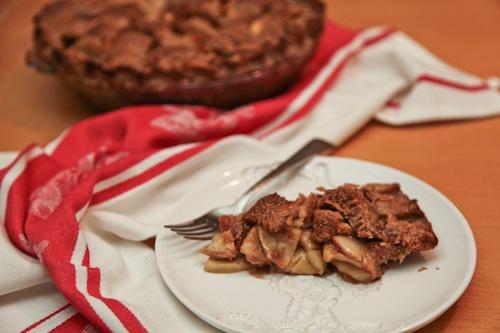 Gluten Free Double Butterscotch Apple Pie | Recipe
