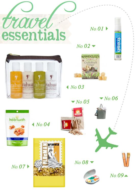 category travel packing essentials