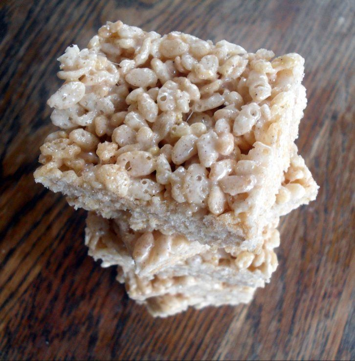 salted brown butter crispy treats | Favorite Recipes | Pinterest