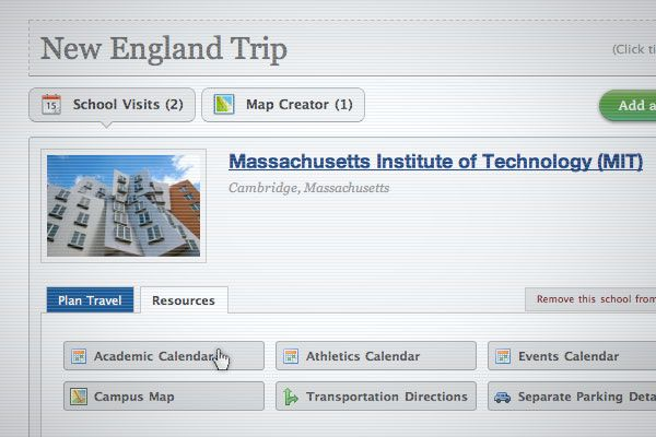 GoSeeCampus.com - An awesome site for helping families plan college visits