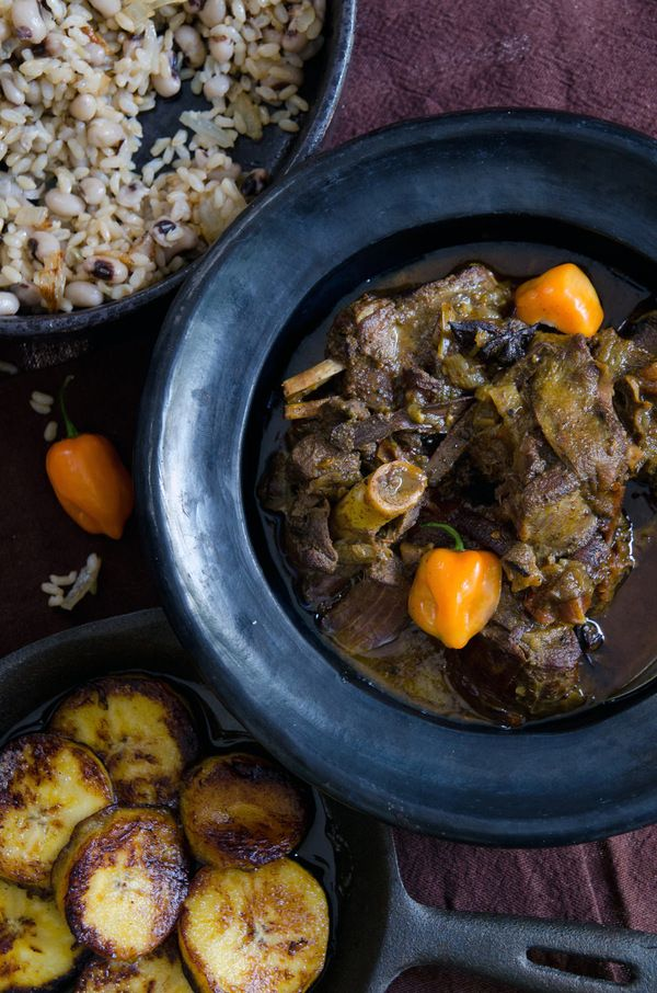 Jamaican Goat Curry - using coconut milk | Jump in my Mouth! | Pinter ...