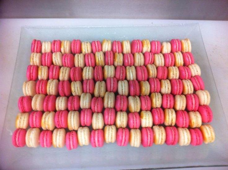 Raspberry and Almond Macarons | French Macarons | Pinterest