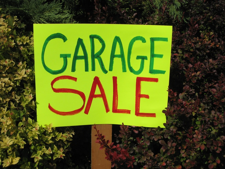 Garage Sale Tips | Things to Check Out | Pinterest