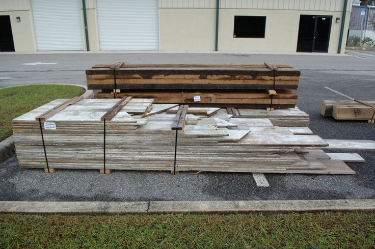 Bundled Reclaimed Antique Lumber