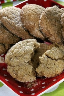 Reduced Fat Ginger Cookies | Cookies, Brownies, Bars & Such | Pintere ...
