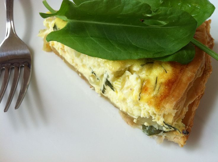 Simple Quiche with Sorrel | Recipes & Yummy Food | Pinterest