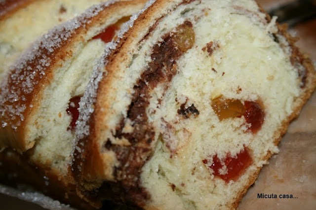 romanian cake/bread | Babka and bread cake recipes | Pinterest