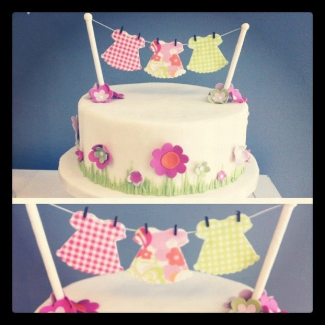 Baby shower cake from I do! Wedding Cakes in Toronto, Ontario