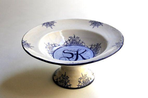 Wedding Gift Ideas For USD300 : wedding gift Custom Gift Ceramic Ceramic by vanIveyCeramics, USD300 ...