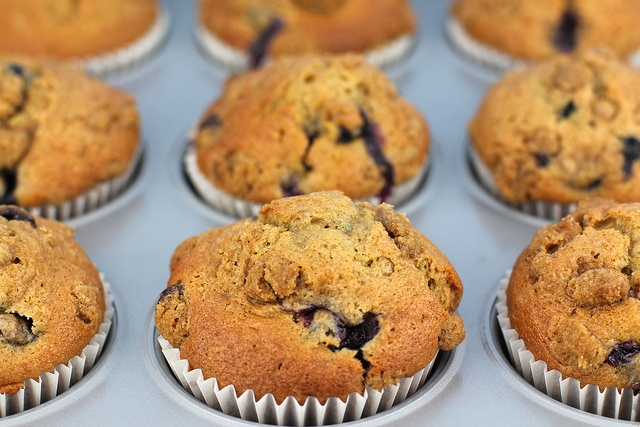 Lemon & Lime Blueberry Muffins by Made With Pink, via Flickr
