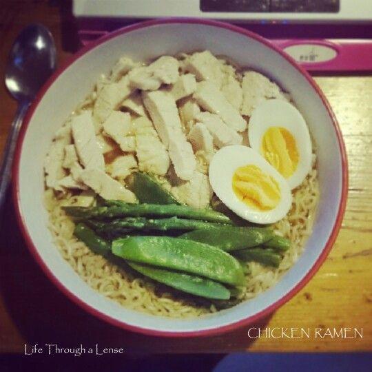 Chicken Ramen | Tasty Things | Pinterest