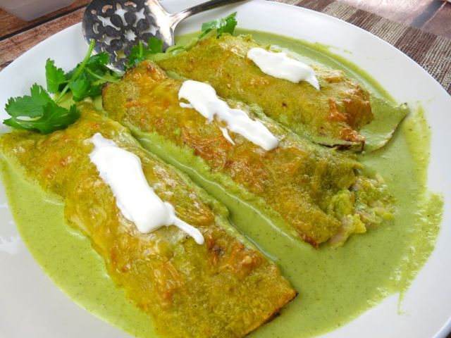 Enchiladas Suizas | South of the Border | Pinterest