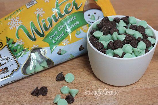 Dark Chocolate and Mint Chip Clouds | Recipe