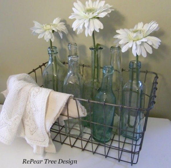 Decorating With Wire Baskets Daisy Pinterest