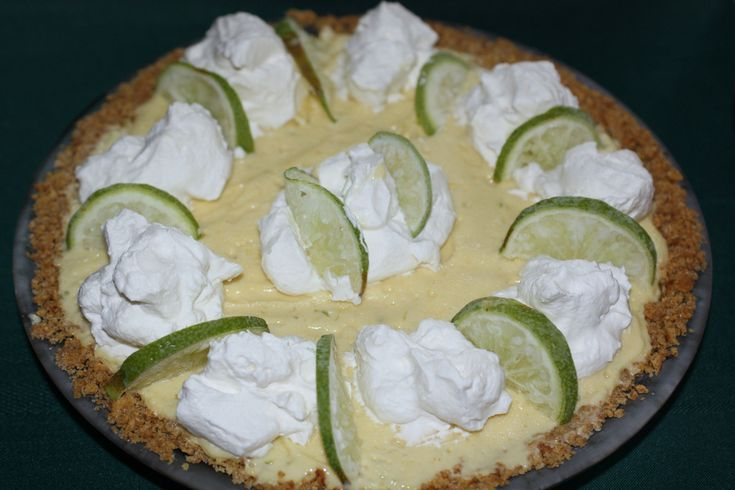 Frozen Key Lime Pie | Pies and Hand-Pies | Pinterest