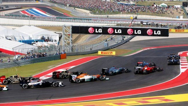 formula 1 austin texas location