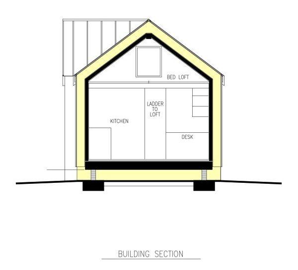 300 Sq Ft Passive Tiny House Tiny Living