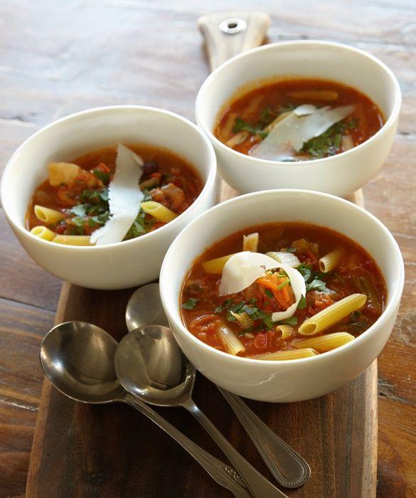 Hearty Italian Soup Tomatoe Soup | Soup | Pinterest