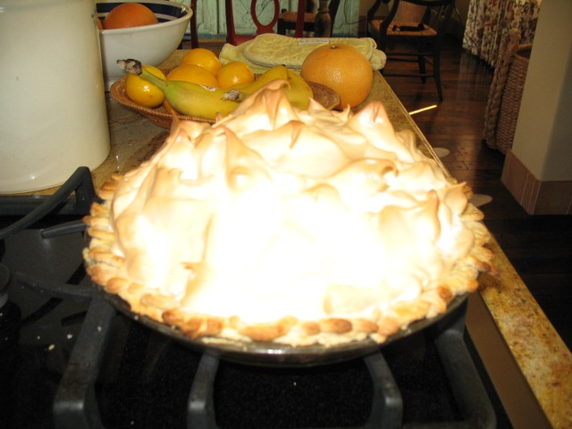 Meyer Lemon Pie | Favorite Recipes | Pinterest