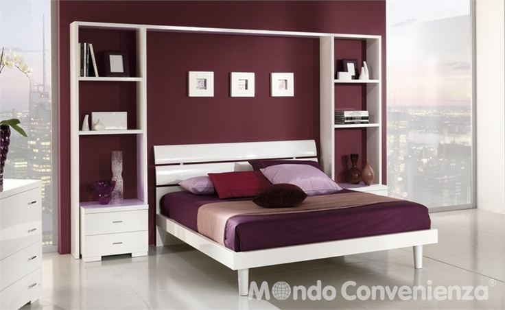 Parete libreria camera da letto dream home pinterest - Camera da letto centro convenienza ...