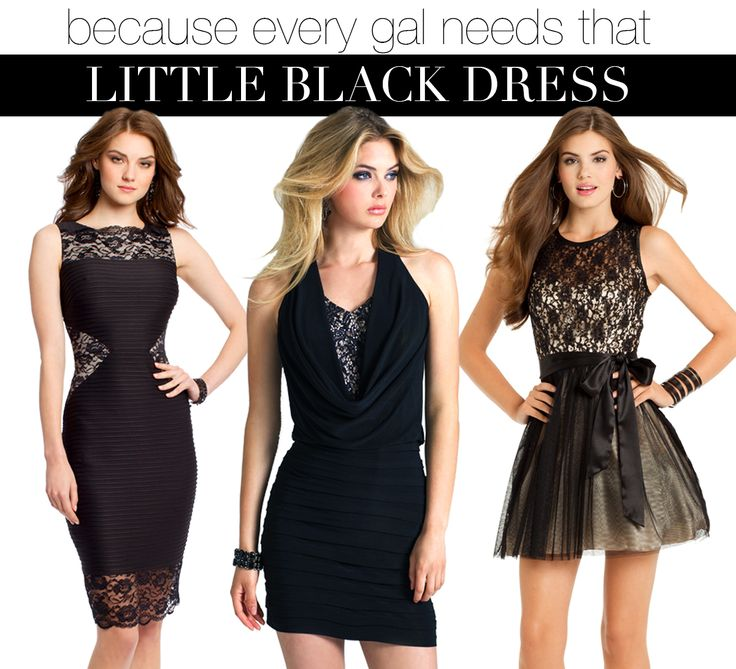 Camille La Vie black short dresses for Homecoming and other Party. The LBD