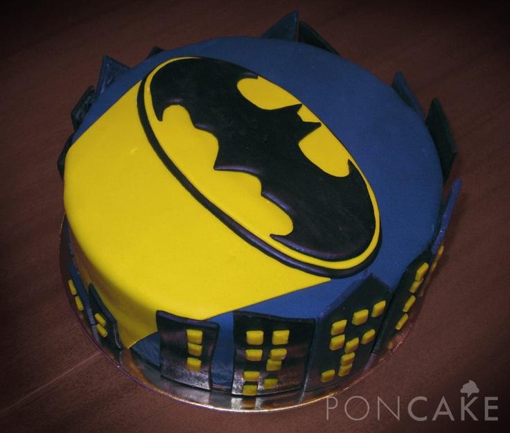 Batman Cake - Torta de Batman