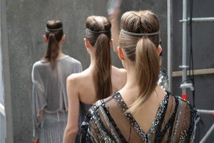 Chanel Couture Autumn Winter 2013-14 Hair: Sam McKnight (Vogue.com UK)