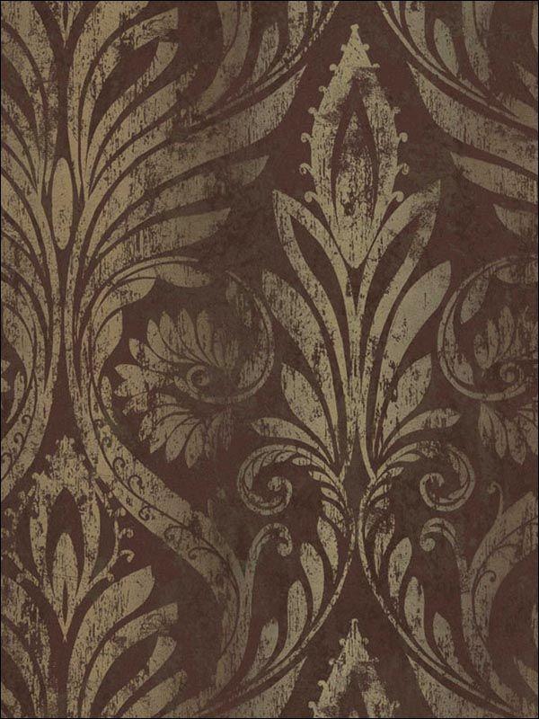 wallpaperstogo.com WTG-077625 NextWall Traditional Wallpaper