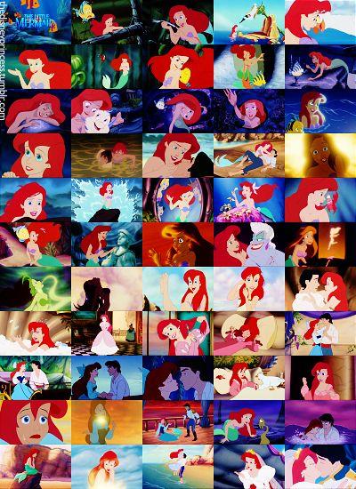 The Little Mermaid in 55 frames