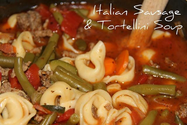 Italian Sausage & Tortellini Soup | soups | Pinterest